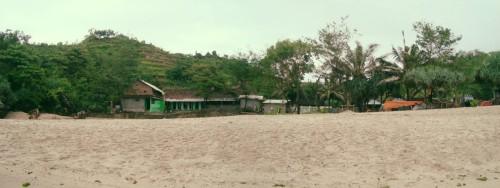 tepi pantai Siung